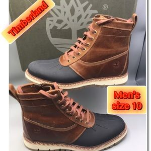 Timberland Men Britton Hill Side zip boots rubber
